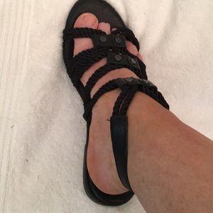 Yosi Samra Marina Rope Gladiator Sandals NWOB SZ 8
